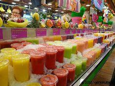 Genki Tummy: Barcelona, Spain~ Boqueria Market