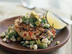 Spicy Shrimp Cakes with Corn and Avocado Salsa   Whether baked, sauteed, grilled, or stir-fried, versatile and quick cooking shrimp serve as the star in these favorite low-calorie entrees.