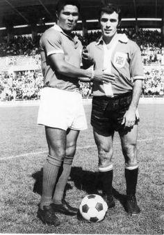 Eusébio e Saporiti, Belenenses - SL Benfica