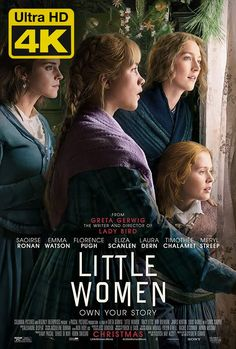 Little Women is a 2019 American coming-of-age period drama film written and directed by Greta Gerwig. It is the seventh film adaptation of the 1868 novel of the same name by Louisa May Alcott. Downton Abbey, Netflix, French New Wave, Movie Dialogues, Mother Daughter Relationships, Moda Emo, Opening Credits, Woman Movie, Ex Machina