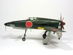 1:72 J7W Shinden II by Zero-Cannard.deviantart.com on @deviantART