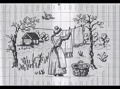 air dry (cross stitch chart)