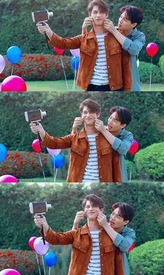 Bright Wallpaper, Couple Wallpaper, Cute Asian Guys, Cute Korean, Heirs Korean Drama, Bright Pictures, Cute Gay Couples, Ulzzang Couple, Thai Drama