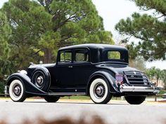 1934 Packard Twelve 5-passenger Coupe (1107-737)
