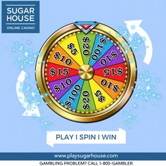 Play! Spin! And WIN! Every time you hit a new Tier in our Loyalty Program, you'll give our Cash Wheel a spin and get the opportunity to win MORE MONEY at every Tier! The higher you get, the more you can win! Sign up today at ! #spin #win #fun #join #play #newjersey #games #slots #onlinecasino #gaming #videopoker #blackjack #cash #money #rewards #signup #wheel