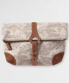 Grey Japanese Jacquard Clutch from Levi's