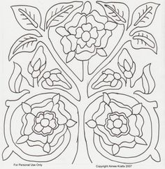 Crewel Embroidery Tutorial - I have made patterns for several sweet bags found in museum collections. I have distributed these patterns in the sweet bag classes I have taught at University. Some are fairly accurate. Jacobean Embroidery, Blackwork Embroidery, Hand Embroidery Patterns, Embroidery Applique, Embroidery Stitches, Machine Embroidery, Embroidery Designs, Medieval Embroidery, Sweet Bags