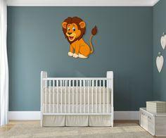 Acrylglas Wandbild Löwe aus unserer Afrika Collection in 80cm Höhe.