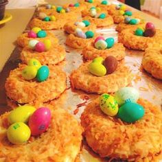 "Birds' Nests | ""These were a hit! In addition to being adorable, they actually TASTE good too! Took them to Easter dinner and they were ""awww'd"" over and gobbled up."""