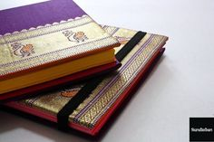 Saree Diary Handmade with real brocade sarees from Banares