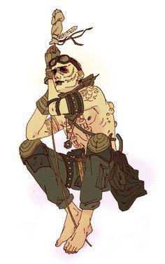 "i-heart-war-boys: ""rogue-warboy: "" nkassirerdraws: "" Today we're hauling Aqua-Cola "" I love this war boy. Mad Max 3, Tom Hardy Mad Max, Imperator Furiosa, Cyberpunk Rpg, Mad Max Fury Road, Post Apocalypse, People Art, Fallout, Illustration Art"