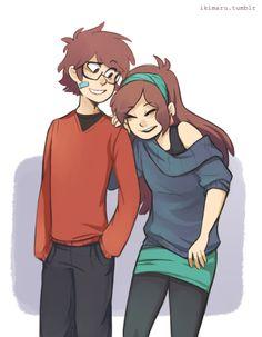 Older Dipper & Mabel