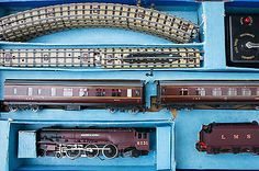 Vintage hornby #dublo 3 rail edp2 #passenger #train set duchess of atholl 1940's, View more on the LINK: http://www.zeppy.io/product/gb/2/322122634661/