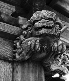 the Chinese have gargoyles, too.