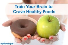 For those of us who struggle with cravings for unhealthy foods, here's some encouraging news.