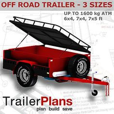 This economical design will provide you with all the necessary detail to get you started with building a trailer straight away. Our plans are also available on Plans are conveniently contained on a CD-ROM. Cage Trailer, Work Trailer, Off Road Camper Trailer, Trailer Plans, Trailer Build, Camper Trailers, Landrover Camper, Offroad Camper, Small Enclosed Trailer