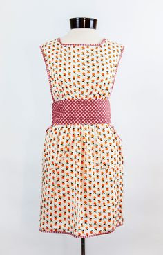 the Madeline apron  - found on www.ImagineGoods.com