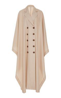 Double Breasted Poncho by Bouguessa Tesettür Çanta Modelleri 2020 Abaya Fashion, Muslim Fashion, Modest Fashion, Fashion Dresses, Mode Abaya, Mode Hijab, Casual Hijab Outfit, Casual Dresses, Iranian Women Fashion