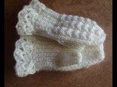 Как связать варежки на двух спицах? How to knit mittens on two needles? - YouTube