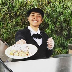 We cater! Call today to book #crepe station #catering for your next event  (714) 595-9995 {serving all of Southern California}