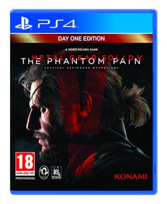 Metal Gear Solid V: The Phantom Pain - Day 1 Edition (PS4): Amazon.co.uk: PC & Video Games