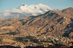 La Paz looked beautiful