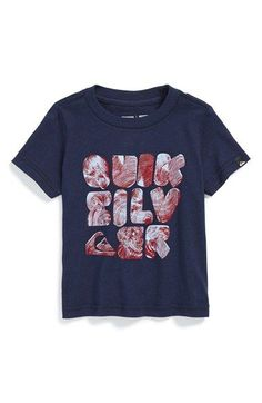 Quiksilver 'Woody' Graphic Cotton T-Shirt (Baby Boys) available at #Nordstrom