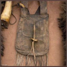 1830's Shooting Bag and accoutrements...Western Frontier Days...