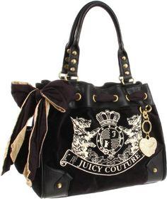 Juicy Couture Bag I Want Handbags Purses And Black