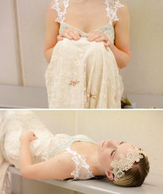 Claire Pettibone and Jenny Packham Wedding Dress Heaven in The North ~ It's Not All About London...