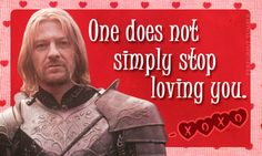 Boromir on Valentine's Day