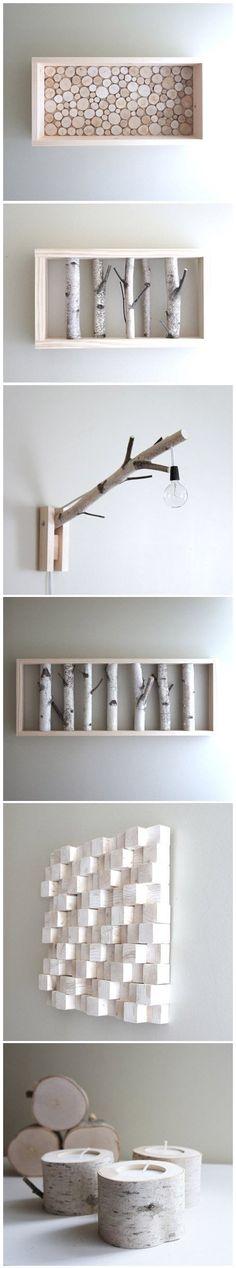 Cool Wood Craft Ideas   DIY  Crafts Tutorials