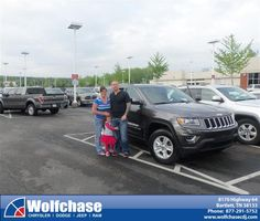 #HappyAnniversary to Jason Jeffreys on your 2014 #Jeep #Grand Cherokee from James Hokanson at Wolfchase Chrysler Jeep Dodge!