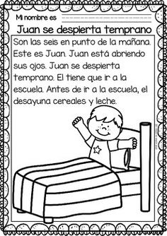 Easy Reading for Reading Comprehension in Spanish - special edi. Spanish Lessons For Kids, Learning Spanish For Kids, Spanish Lesson Plans, Spanish Language Learning, Teaching Spanish, Learn Spanish, Teaching Resources, Teaching Materials, Speak Spanish
