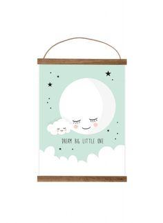 Kinder wandtattoo wolken mit regentropfen wandsticker sticker poster a4 mimirella dream big little thecheapjerseys Gallery