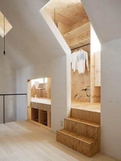 Home inspired by an anthouse - fascinating! mA-Style Architects; Remodelista