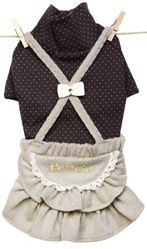Louis Dog Celebrity Kids - I'm So Cute Overall Skirt