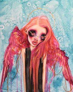 Little Lyra. Original Angel Dust #3 by Dustin Bailard.