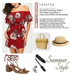 """""""summer style"""" by selma-imsirovic-01 ❤ liked on Polyvore featuring Valentino, White Stuff, H&M, Bobbi Brown Cosmetics and L'Oréal Paris"""