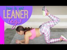 Get Leaner Legs Workout - video - Natalie Jill Fitness