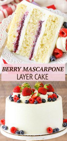 Delicious Cake Recipes, Best Cake Recipes, Cupcake Recipes, Yummy Cakes, Sweet Recipes, Baking Recipes, Cupcake Cakes, Cupcakes, Dessert Cake Recipes