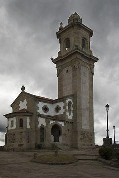 Vigo, in northwestern Spain. // Ermita de la Guia, Parroquia de Teis, Vigo