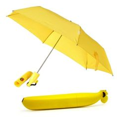 A secret agent in a banana disguise. Due to a string of crimes in the fruit community, this umbrella is going undercove
