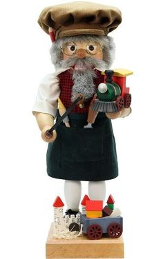 """Christian Ulbricht Nutcracker - a very traditional """"Toymaker"""" - Limited edition of 1000 pieces. Made in Germany."""