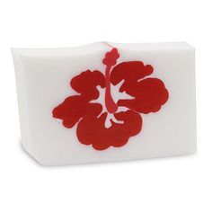 Primal Elements 5 lb Pre-cut Loaf Soap - Hibiscus by Primal Elements. $72.00. Pre-cut 5 lb. loaf.. Pure vegetable glycerin soap.. Approximately 10 bars, 1 inch thick, and 2 ends.. Handmade in the USA.. Sodium lauryl sulfate free.. Tropical floral paradise blooming with melon and peach.  This item has a floral fragrance.  Floral fragrances vary from single note floral to rich multi-floral bouquets. These aromas range from light and subtle to high intensity and alm...