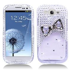 3D Bow Tie Rhinestone/Diamond/Crystal/Bling Hard Plastic Protector Case Cover For Samsung Galaxy S3 I9300-Clear by For Samsung, http://www.amazon.com/dp/B008JB53GS/ref=cm_sw_r_pi_dp_syGorb0YAXN7P
