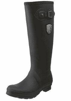 Kamik Women's Jennifer Rain Boot - Women's Rain Boots Skinny Calves, Can, Garment Bags, Boots Online, Cool Boots, Hunter Boots, Knee High Boots, Black Boots, Sneakers Fashion