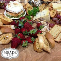 Visit Meade Cafe for our delicious snacks and eateries. From mouth watering breads to scrumptious cheese. Delicious Snacks, Camembert Cheese, Breads, Food, Bread Rolls, Essen, Bread, Meals, Braided Pigtails