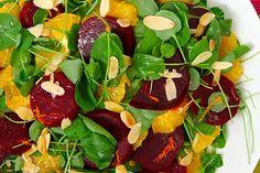 Beet, Orange and Watercress Salad
