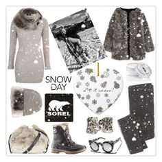 """""""Introducing the 2015 Winter Collection from SOREL: Contest Entry"""" by mood-chic ❤ liked on Polyvore featuring SOREL, Jane Norman, Topshop, Madewell, VALLEY, MaxMara, Surell and Archipelago Botanicals"""